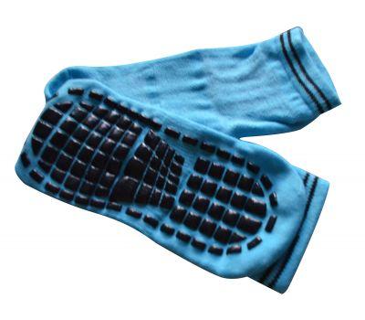 Носки антискользящие детские. Голубой, фото 1