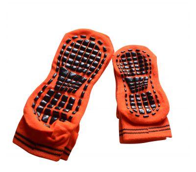 Носки антискользящие Детские. Оранжевый, фото 1
