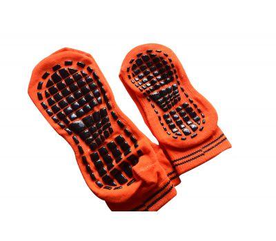 Носки антискользящие Детские. Оранжевый, фото 3