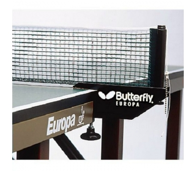 ТЕННИСНЫЙ СТОЛ BUTTERFLY EUROPA 25, ITTF (СИНИЙ), фото 4