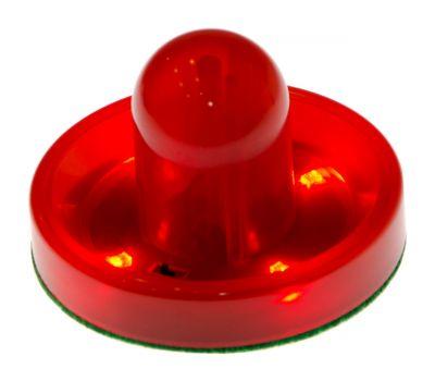 Бита для аэрохоккея LED «Atomic Top Shelf / Lumen-X Laser» D96 мм, красная, фото 1