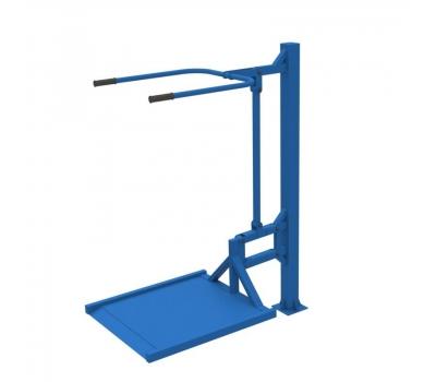 Уличный тренажер вертикальная тяга  Air-Gym ИНВА YT 16, фото 3