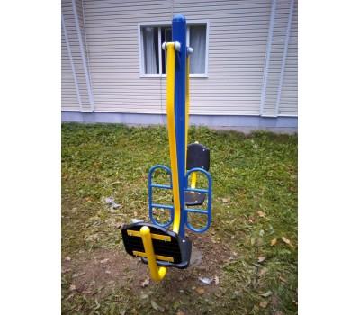Тренажер для улицы Жим ногами сдвоенный  Air-Gym YT47, фото 5