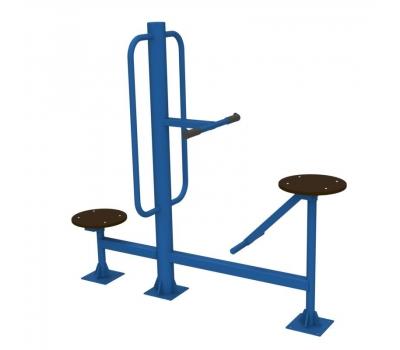 Тренажер уличный твистер сидя + твистер стоя  Air-Gym YT26, фото 3