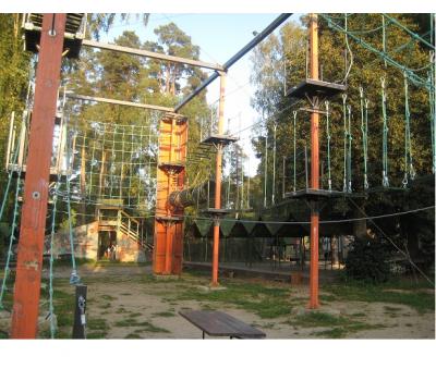 Веревочная высотная полоса препятствий, фото 2
