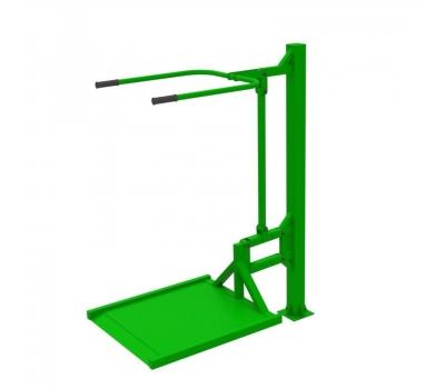 Уличный тренажер вертикальная тяга  Air-Gym ИНВА YT 16, фото 5