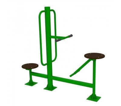 Тренажер уличный твистер сидя + твистер стоя  Air-Gym YT26, фото 5