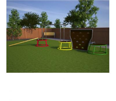 Мобильная детская игровая площадка Альпинист, фото 1