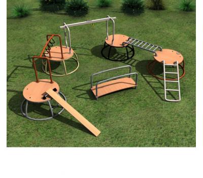 Мобильная детская игровая площадка Ясли-сад, фото 1