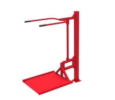Уличный тренажер вертикальная тяга  Air-Gym ИНВА YT 16, фото 4