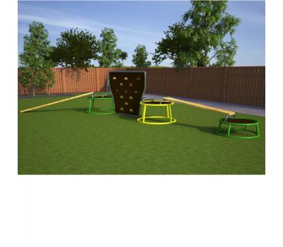 Мобильная детская игровая площадка Базовая, фото 1