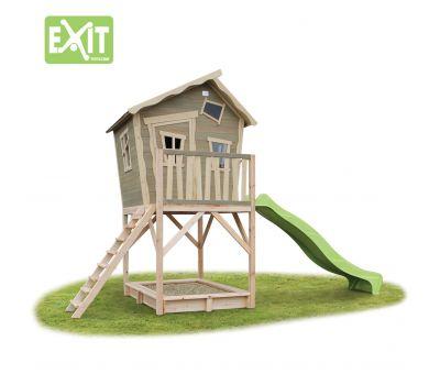 Игровой дом с изгибом с горкой 700, фото 1