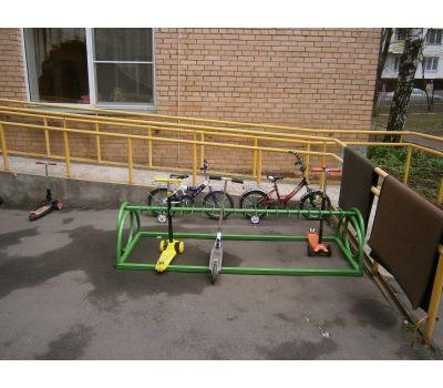 Парковка для самокатов Компакт на 30 мест, фото 8