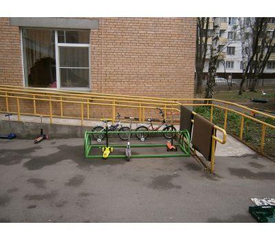 Парковка для самокатов Компакт на 30 мест, фото 9