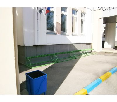 Парковка для самокатов Лотос на 15 мест, фото 8