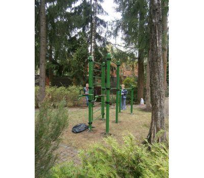 Турник, брусья, вертикальный пресс, шведская стенка Air-Gym YSK67, фото 5