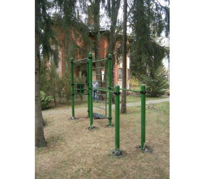 Турник, брусья, вертикальный пресс, шведская стенка Air-Gym YSK67, фото 6