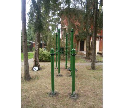 Турник, брусья, вертикальный пресс, шведская стенка Air-Gym YSK67, фото 7