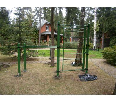 Турник, брусья, вертикальный пресс, шведская стенка Air-Gym YSK67, фото 8
