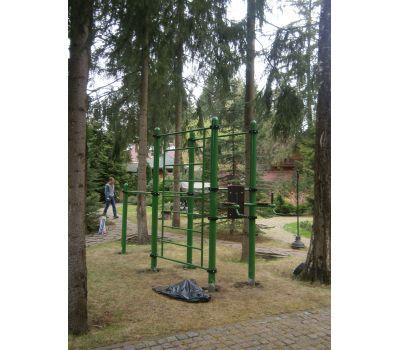Турник, брусья, вертикальный пресс, шведская стенка Air-Gym YSK67, фото 9