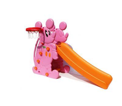 """Горка """"Мышка"""" PS-027 розовый, фото 1"""