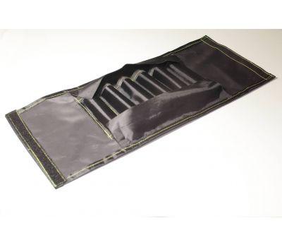 Ввертыши в чехле (комплект 6 шт, подвижная ручка 16х1,5х130), фото 3