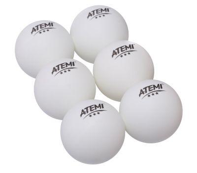 Мячи Atemi 3* (6 шт.), фото 1