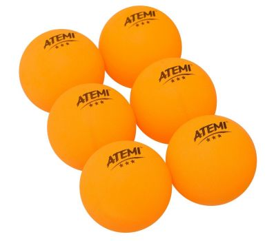 Мячи Atemi 3* (6 шт.), фото 3