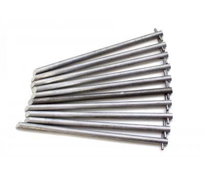 Колышки в чехле (алюминиевый сплав, 8,0 х 180 мм, компл. 10 шт), фото 2