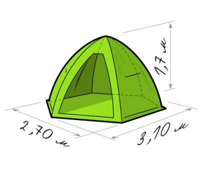 Зимняя палатка Лотос 4ЛТ, фото 9