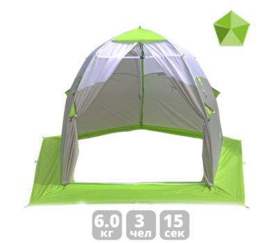 Зимняя палатка «ЛОТОС 3 Универсал», фото 1