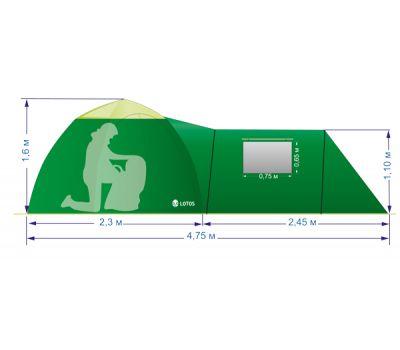 Летняя палатка Лотос 2 Саммер(комплект), фото 20