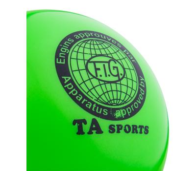 Мяч для художественной гимнастики RGB-101, 15 см, фото 2