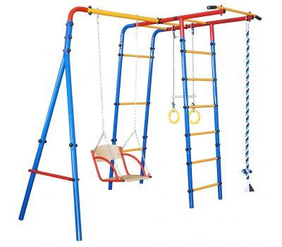 Детский спортивный комплекс «ЮНЫЙ АТЛЕТ» модель «Уличный-Лайт», фото 1