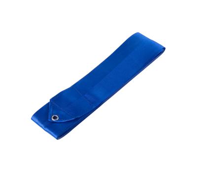 Лента для художественной гимнастики AGR-201 4м, с палочкой 46 см, синий, фото 2