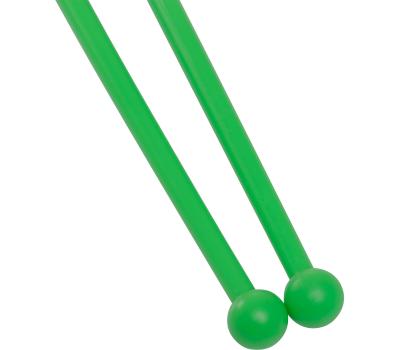Булавы для художественной гимнастики У714, 35 см, зеленые, фото 3