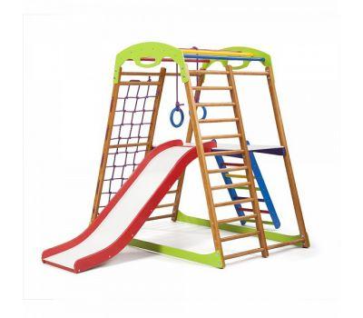 Детский спортивный комплекс для дома «BabyWood Plus 2», фото 1