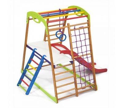 Детский спортивный комплекс для дома «BabyWood Plus 2», фото 5