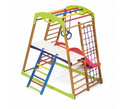 Детский спортивный комплекс для дома «BabyWood Plus 2», фото 6