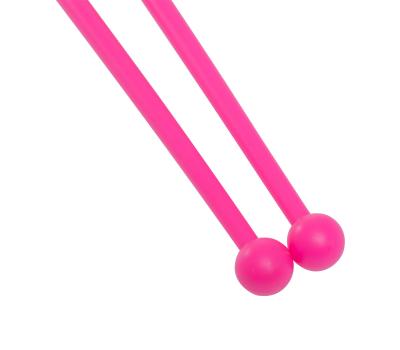Булавы для художественной гимнастики У906, 45 см, розовый, фото 3