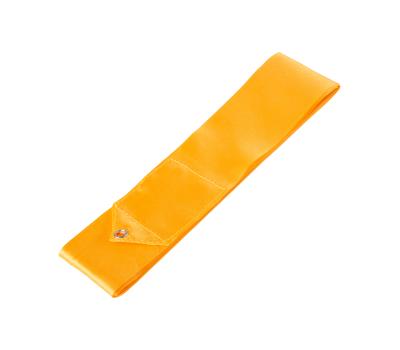 Лента для художественной гимнастики AGR-201 6м, с палочкой 56 см, оранжевый, фото 2