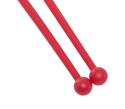 Булавы для художественной гимнастики У714, 35 см, красные, фото 3