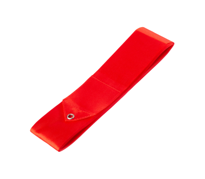 Лента для художественной гимнастики AGR-201 6м, с палочкой 56 см, красный, фото 2