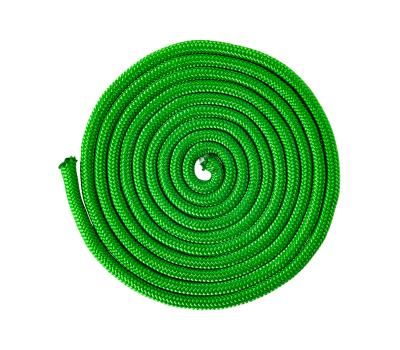 Скакалка для художественной гимнастики RGJ-104, 3м, зелёный, фото 2