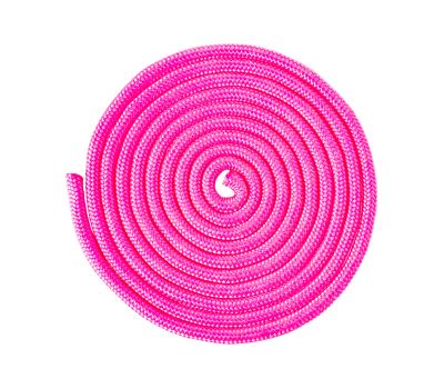 Скакалка для художественной гимнастики RGJ-104, 3 м, розовый, фото 2