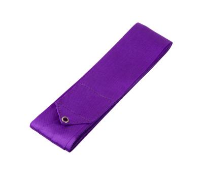 Лента для художественной гимнастики AGR-201 6м, с палочкой 56 см, фиолетовый, фото 2