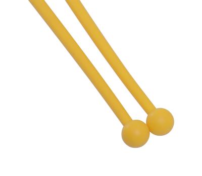 Булавы для художественной гимнастики У714, 35 см, желтые, фото 3