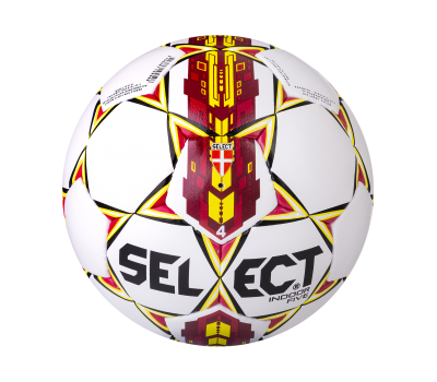 Мяч футзальный Indoor Five бел/крас/желтый, фото 2