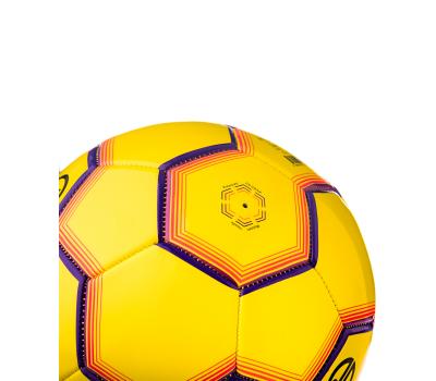 Мяч футбольный JS-100 Intro №5, желтый, фото 5