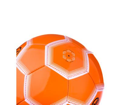Мяч футбольный JS-100 Intro №5, оранжевый, фото 5